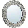 vidaXL Spiegels 3 st 15 cm wicker