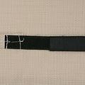 vidaXL Hoofdsteun voor ligstoel 40x7,5x15 cm textileen crème