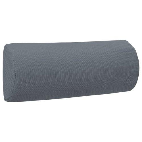 vidaXL Hoofdsteun voor ligstoel 40x7,5x15 cm textileen grijs