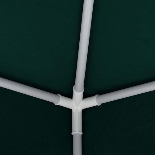 vidaXL Partytent met zijwanden professioneel 90 g/m² 2x2 m groen
