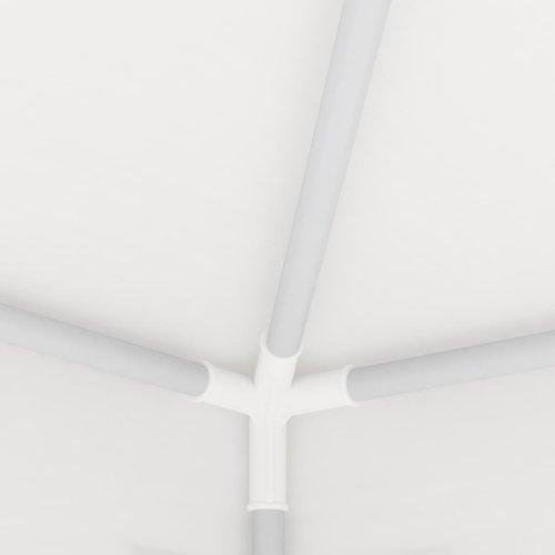 vidaXL Partytent met 4 mesh zijwanden 4x4 m wit