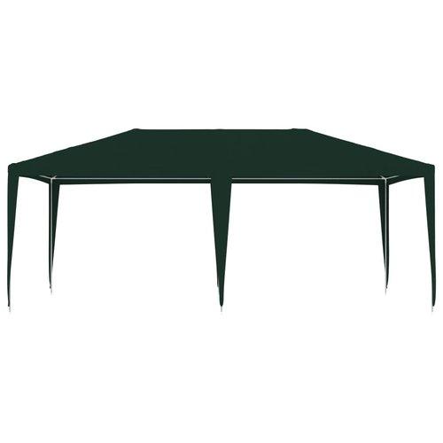 vidaXL Partytent professioneel 90 g/m² 4x6 m groen
