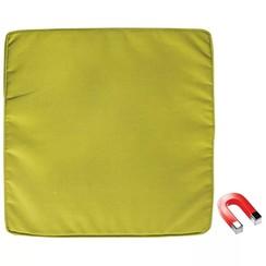 Vierkant Kussen met Magneet Groen