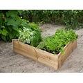 Nature Plantenbak voor groenten driehoek