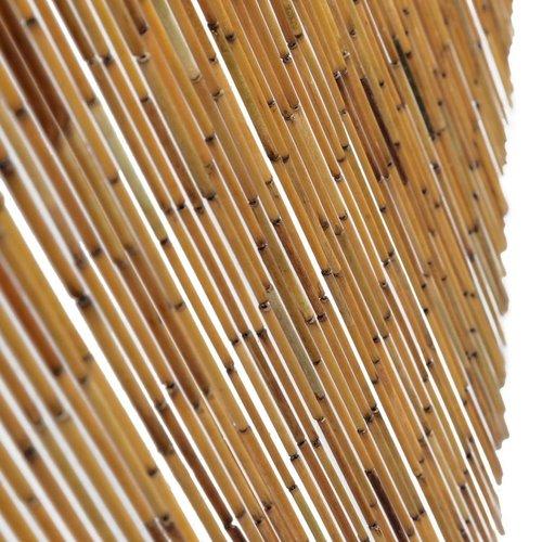 SnutsProducts Vliegengordijn 90x220 cm bamboe
