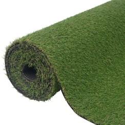 Kunstgras groen 1,5x10 m/20-25 mm