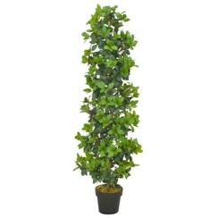 Kunstplant met pot laurierboom 150 cm groen