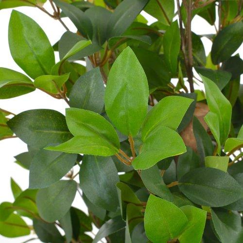 SnutsProducts Kunstplant met pot laurierboom 150 cm groen