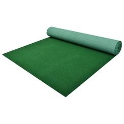 Kunstgras met noppen 20x1 m PP groen