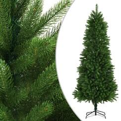 Kunstkerstboom met levensechte naalden 240 cm groen