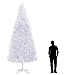Kunstkerstboom 400 cm wit