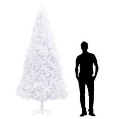 Kunstkerstboom 300 cm wit