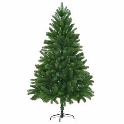 Kunstkerstboom met levensechte naalden 210 cm groen