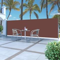 Zijluifel uittrekbaar 160x500 cm bruin