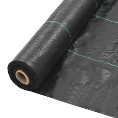 Tuindoek 2x150 m PP zwart