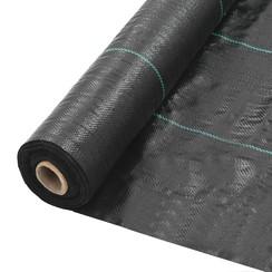 Tuindoek 2x100 m PP zwart