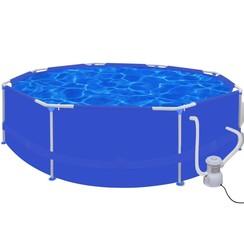 Zwembad rond met filterpomp 300 gal/u 300 cm