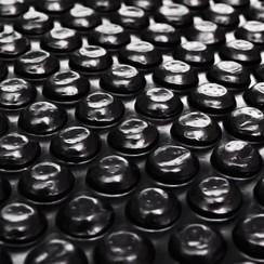 Zwembadhoes 488 cm PE zwart