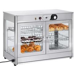 Voedselwarmer elektrisch gastronorm 1200 W roestvrij staal