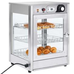Voedselwarmer elektrisch gastronorm 600 W roestvrij staal