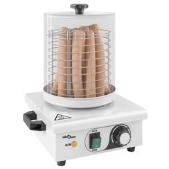 Hotdog verwarmer 450 W roestvrij staal