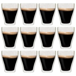 Latte macchiatoglazen dubbelwandig 12 st 370 ml