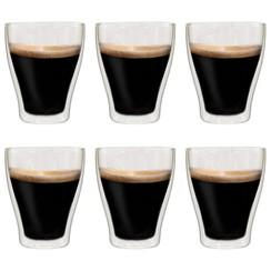 Latte macchiatoglazen dubbelwandig 6 st 370 ml