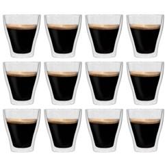 Latte macchiatoglazen dubbelwandig 12 st 280 ml
