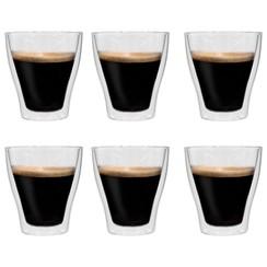 Latte macchiatoglazen dubbelwandig 6 st 280 ml