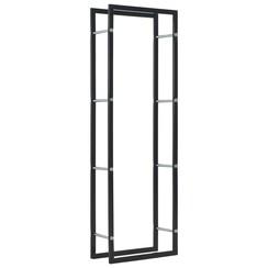 Haardhoutrek 50x20x150 cm staal zwart
