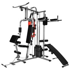 Fitnessapparaat met 1 bokszak multifunctioneel 65 kg