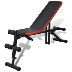 Sit-up bankje verstelbaar en multifunctioneel