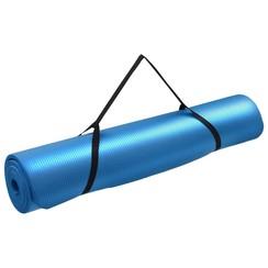 Yogamat 100x190 cm EVA blauw