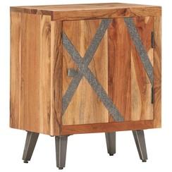 Nachtkastje 40x30x50 cm massief acaciahout