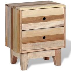 Nachtkastje massief gerecycled hout