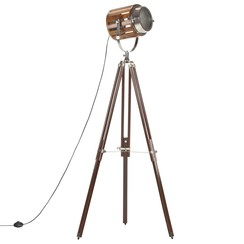Vloerlamp driepoot 186 cm massief mangohout