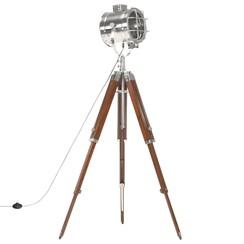 Vloerlamp driepoot 165 cm massief mangohout