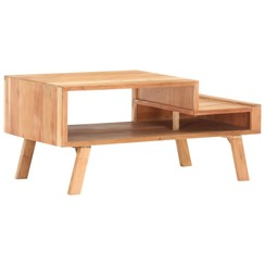 Salontafel 100x50x45 cm massief acaciahout