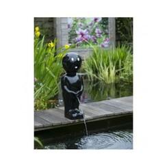 Spuitfiguur jongetje VI klein 45,5 cm zwart 1386125