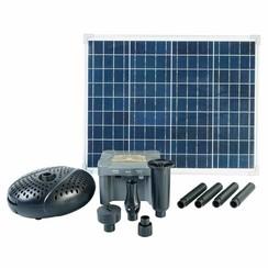 SolarMax 2500 set met zonnepaneel, pomp en accu