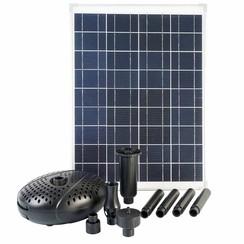 SolarMax 2500 set met zonnepaneel en pomp