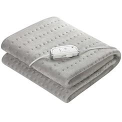 Elektrische deken HU 670 0,8x1,5 m fleece grijs