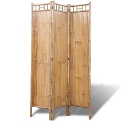 Kamerscherm bamboe 3 panelen