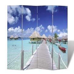 Kamerscherm inklapbaar strand 160x170 cm