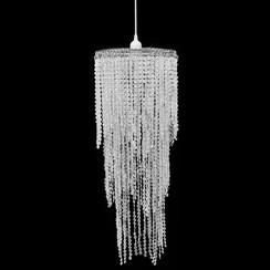 Kroonluchter met kristallen 26 x 70 cm
