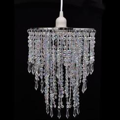 Kroonluchter met kristallen 22,5 x 30,5 cm