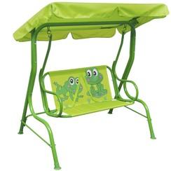 Kinderschommelstoel groen