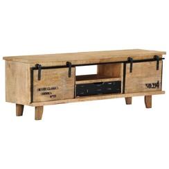 Tv-meubel 120x30x40 cm massief mangohout