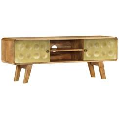 Tv-meubel 120x30x45 cm massief mangohout