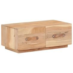 Salontafel 90x50x35 cm massief gerecycled hout